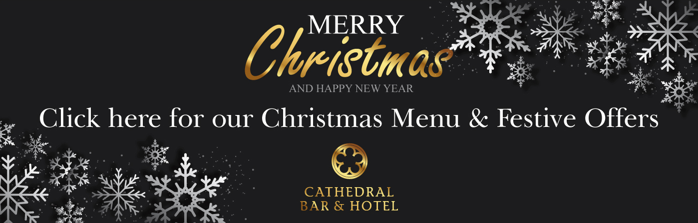 The Cathedral Hotel - Christmas Banner